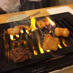 近江牛肉店  - 角が最後のレバー