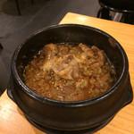 近江牛肉店  - すじ煮込み