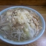 74226177 - ラーメン麺少な目、メンマ 740円