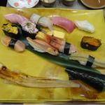 梅丘寿司の美登利総本店 - 板さんおまかせにぎり