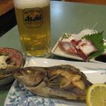 いよじ - 料理写真:夕食の一部