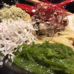 麺屋 翔 - 夏季限定 冷い混ぜそば