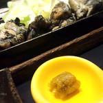 宮崎料理 万作 - 霧島鶏のもも焼き膳