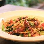 ALBA - 4月のオススメ!!富山産ホタルイカのリングエッティーネ 春のお野菜と濃厚なホタルイカ 旬を味わって。