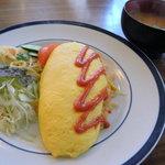 レストラン わか菜 - オムライス(800円)