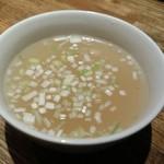 山ちゃん - 濃厚鶏だしスープ