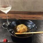 魅惑の酒屋 mikami - 蓮根まんじゅう 食べた方がいいっす!