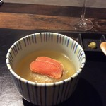 魅惑の酒屋 mikami - 酒かす漬けのタラコお茶漬け