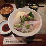 すし喜八 - おまかせ丼¥800-