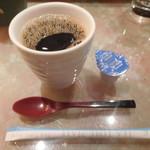 すし喜八 - コーヒー付き