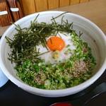 大好き昭和亭 - 料理写真:山ぶっかけうどん[¥580]