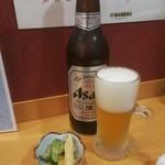 井戸端 - ビールとお通し