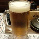 太平洋酒場 - 「生ビール大」(800円)