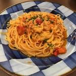 74238010 - フレッシュバジルのトマトソース
