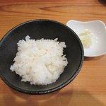 麺や七福 - 小ごはん2017.10.04