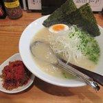 麺や七福 - 辛白湯ラーメン2017.10.04
