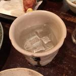 大分の鳥料理とお酒 如水 - 泰明のロック