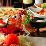 イタリアンカフェ マリナーラ - お料理コースはボリューム満点8品で1700円から☆