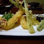 丸西屋 - 絶品天ぷら盛合わせ