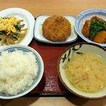 丹波篠山食堂 - おかず色々