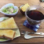 カフェクローバー - 料理写真:35コーヒー モーニング