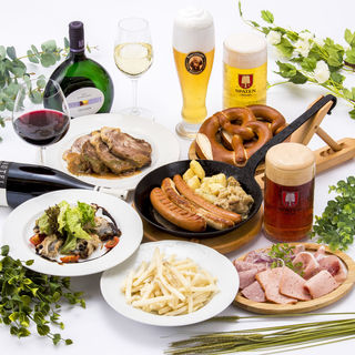 ドイツビールが飲み放題!各種宴会ご予約受付スタート!
