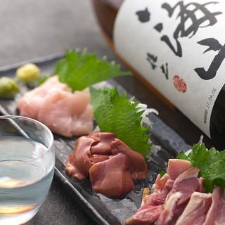 【産地直送】宮崎県産の土鶏など、新鮮な地鶏のみを厳選使用!