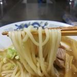 長尾中華そば - 手打ち麺