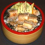 割烹 すし文 - 穴子丼 ランチで記憶だけど900円だった! 美味しかった