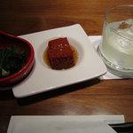 SAKE bistro W by夢酒 - お通し