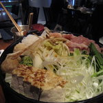 SAKE bistro W by夢酒 - みんなで鍋だー♪