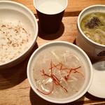 スープストックトーキョー - 2スープと少なめご飯セット