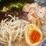 拉麺 空海 - 細麺 濃厚