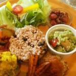 DevaDeva Cafe - 10月新メニュー「酵素玄米のデリランチ」