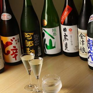 ほやのお共といったら…日本酒でしょ!