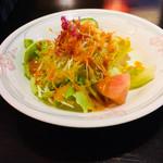 カトマンズ - セットのサラダ。きちんとして量の多いサラダです。