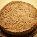つるやパン - 本店限定「サンドウィッチ ハムカツチョコ」