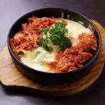 花火の宴 - チーズ鉄板焼(キムチ)