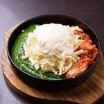 花火の宴 - チーズ鉄板焼(キムチときゅうり)