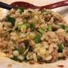 三田製麺所 - 料理写真:割り飯 混ぜ後