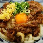 丸亀製麺 - 牛すき釜玉(並)¥640