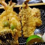 てっちゃん - 天ぷら盛り合わせ