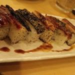 居酒屋 天うま - 鰻の炙り箱寿司
