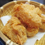 あきない(春夏冬) - クリームチーズの包揚げ