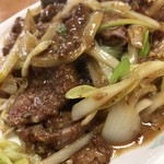 中華料理一番 - レバーのにんにくみそ炒め