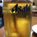 中華料理一番 - アサヒ生ビール