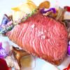 リストランテ エスト - 料理写真:蝦夷鹿のロースト!!赤ワインソース