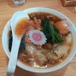 白河手打中華そば 中村 - 料理写真:ワンタン麺