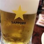 鳳凰楼 - サッポロ生ビール