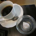車澤うどん - サービスのコーヒー